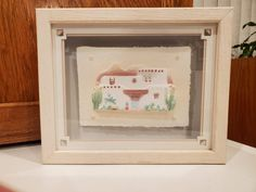 Vintage Art Prints, Vintage Wall Art, Vintage Walls, Wood Picture Frames, Picture On Wood, Shadow Box Frames, Hand Cast, Hand Coloring, Paper Design