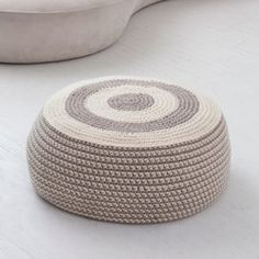 Crochet pouf pattern                                                                                                                                                                                 More