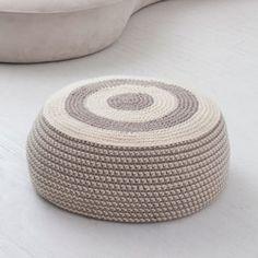 Crochet pouf pattern                                                                                                                                                                                 More