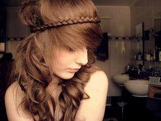 Messy summer hair? Hmmm.. :)