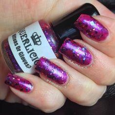 "Polished And Shined: Laquerlicious ""Mittens Or Gloves?"", indie nail polish, winter nail polish"