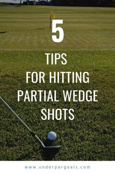 Golf Tips For Beginners Do you struggle with partial wedge shots when you play golf? These 5 golf tips can help turn those yard shots from a weakness to a strength that can improve your score. Golf Chipping Tips, Golf Tips Driving, Golf Score, Golf Putting Tips, Golf Instruction, Golf Tips For Beginners, Perfect Golf, Golf Training, Golf Irons