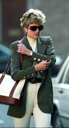 Princess Diana had such a flair for fashions.