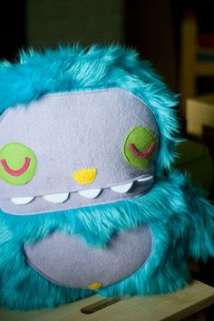 This guys' stuff is amazing, inspiring -- on Etsy #monster #plush