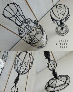 27 besten Wire Craft Bilder auf Pinterest | Maschendraht, Kabelkunst ...