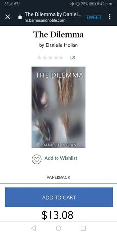 The Dilemma, a poetry collection by Danielle Holian is available at Barnes and Noble.  #poetrybook #paperback #poetry Poetry Collection, Poetry Books, Poetry