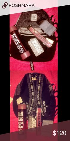 Victoria secret BUNDLE  Victoria secret BUNDLE .  VS backpack - Campus water bottle - VS land yard & VS socks! EVERYTHING NWT NO TRADES ACTIVE OFFERS  PINK Victoria's Secret Accessories