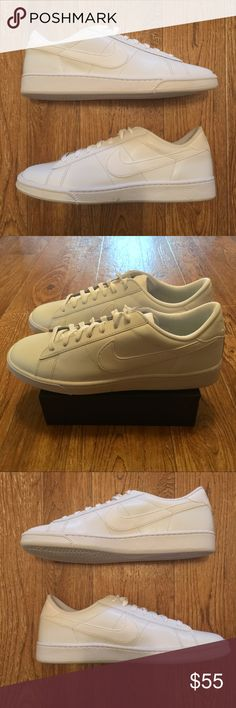 sports shoes 2d364 9861d Shop Men s Nike White size Various Athletic Shoes at a discounted price at  Poshmark. Description  NEW Nike Tennis Classic CS Retro Men s Size   Offers  ...