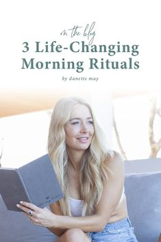 Wake up, my loves! The first hour or two after waking set the stage for your entire day. How are you using that time? See my 3 favorite morning rituals and how they can change YOUR life, too.