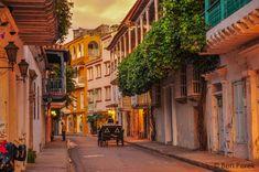 Centro de Cartagena de Indias - Colombia.