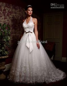 pink wedding dress for large bust - Google Search