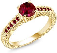 Gemstar Jewellery 18K Rose /& Black Gold Finish Brilliant Cut Yellow Citrine Mickey Mouse Heart Earrings