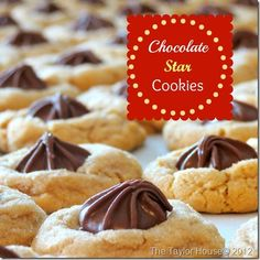 Peanut Butter Chocolate Star Cookies are the perfect cookie to make at Christmas, easy to make and they are always a crowd favorite!