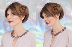 Hot Holiday Hair: 20 Party-Ready Updos via Brit + Co.