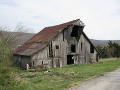 Weathered Barn by dbro1206, via Flickr Prairie Grove, Ar.