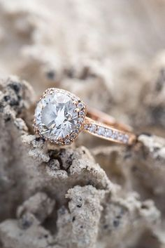 Halo Engagement Rings Or How To Get More Bling ❤ See more: http://www.weddingforward.com/halo-engagement-rings/ #weddingforward #bride #bridal #wedding