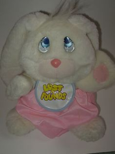 Lost N Founds Bunny Toys Dolls 1980's 1990's