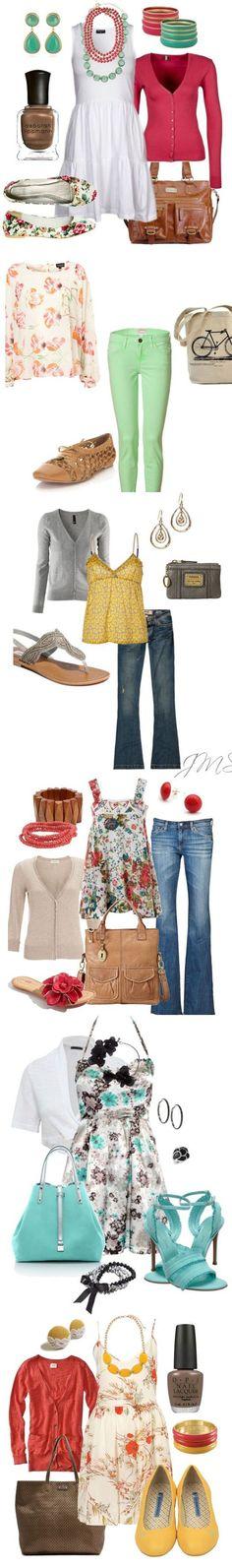 Florals spring fashion