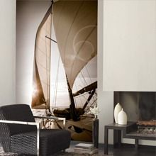 Wall Mural Marina (source Casadeco) Fabric Wallpaper Australia / The Ivory Tower