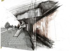 Gallery33 Architecture1 hand drawn architectural drawings 20 Gallery33 Architecture#1 hand drawn architectural drawings