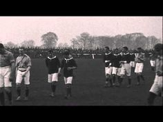 The Racecourse in 1906 - Wales v Ireland in the British Home Championship. The match finished Football Stadiums, Football Soccer, Crusaders Rugby, British Home, International Football, Rugby League, North Wales, Ireland, University