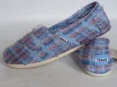 New Arrival Toms women Classics Shoes Beggar Blue