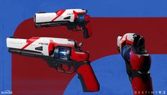 View an image titled 'Suros Hand Cannon Art' in our Destiny 2 art gallery featuring official character designs, concept art, and promo pictures. Fantasy Concept Art, Weapon Concept Art, Sci Fi Weapons, Fantasy Weapons, Airsoft, 3d Video Games, Hand Cannon, Types Of Swords, Destiny Game