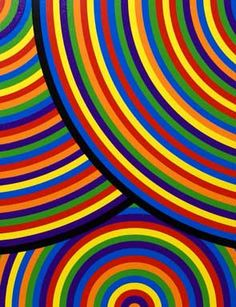 Sol LeWitt, Bands of Equal Width in Color (The Wadsworth Portfolio), 2000 (detail), from a set of 8 linocuts. Edition of 29 x 29 inches each - Carefully selected by GORGONIA www. Hard Edge Painting, Action Painting, World Of Color, Color Of Life, Art Sculpture, Wow Art, Art Abstrait, First Art, Rainbow Colors