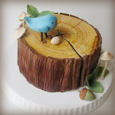 Woodland Cake tutorial - SugarEd Productions