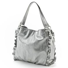 Nine and Co. Ruffled Shopper. I love this. I would also love to use this.