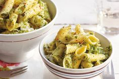 Find the recipe for Leaving-Home Penne Rigate with Broccoli and other pasta recipes at Epicurious.com