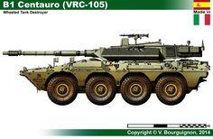 B1 Centauro (VRC-105)