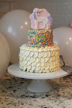 df950d06216 Brooke s Unicorn Birthday Cake - Joyfully Home
