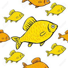 seamless pattern bright colored fish on a white background Illustration , #spon, #bright, #colored, #seamless, #pattern, #background Social Media Detox, Colorful Fish, Pattern Background, Bright Colors, Illustration, Art, Art Background, Bright Colours, Illustrations