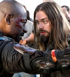 Morgan Jones and Jesus in The Walking Dead Season 8 Episode 2 | The Damned