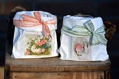 The Falcon Nest: Easter Slightly tutorial Basket Liners, Sewing Baskets, Goodie Bags, Paper Crafting, Presentation, Scrap, Nest, Stitching, Crafts