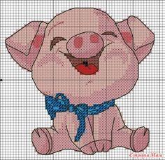 * Приглашаю на совместник, посвященный символу 2019 года - Свинье. И делитесь идеями названия совместника. Дополнила. - Вышивка и все о ней - Страна Мам