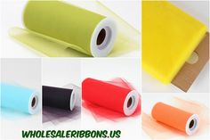 Premium Tulle Fabrics at Wholesale Ribbons US  Shop tulle fabrics from our online store Wholesale Ribbons US. We have the latest collection with new shades and patterns at the affordable price.