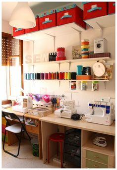 Srta.Pizpiretta: Mi cuarto de costura/ My sewing room: