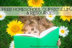 FREE HOMESCHOOL CURRICULUM!  This is the weekly list of Free Homeschool Curriculum and Resources compiled by Jamerrill from FreeHomeschoolDeals.com. If you aren't a homeschooler, but you're a parent, teacher, babysitter, or nanny, you'll probably find at least a few useful freebies in this list.