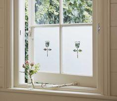 Tulip , Bathrooms & Frosted & Decorative Window Film from Brume Ltd tulip design window film Porch Canopy, Frosted Window Film, Glass Bathroom, Bathroom Ideas, Transom Windows, Window Films, Traditional Interior, Internal Doors, Modern Room