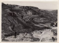 WWI; Workers at Hill 60 (Belgium) in 1919 -The Great War (@WW1_Series) | Twitter