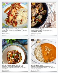 Celebrate African Industrialization Day with holiday recipes of this widely varied cuisine featured by our food bloggers here at Dishfolio!