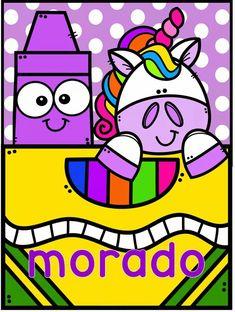 Preschool Colors, Cute Cartoon Images, Leader In Me, School Clipart, Colouring Pics, Kids Learning Activities, Rock Design, Color Pencil Art, Classroom Themes