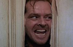 """The Shining """"Heeeeeere's Johnny!""""  (Stanley Kubrick, 1980)"""