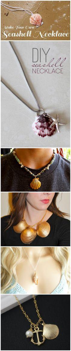 Create Beautiful DIY Seashell Necklace(Diy Necklace Homemade)