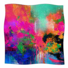 "East Urban Home Montesilvano-Abstract by Oriana Cordero Fleece Blanket Size: 40"" L x 30"" W"