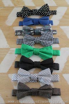 Adjustable Bow Tie Tutorial