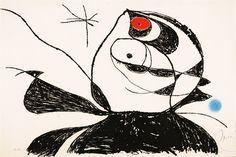 Georges Duthuit (D934) by Joan Miró