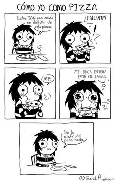 Funny face doodles sarah andersen Ideas for 2019 Sarah Anderson Comics, Sara Anderson, Cute Comics, Funny Comics, Saras Scribbles, Funny Cute, The Funny, Hilarious, Sarah See Andersen